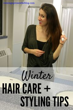Winter hair care and styling tips - Coming Up Roses #CleanRadiance
