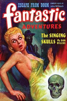 A pulp magazine cover from April 1951 about one's conscience, can't you hear it scream?