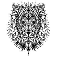 Leuk voor kids kleurplaat ~ leeuw