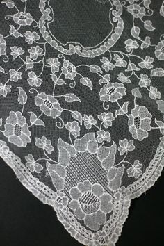 another LImerick Lace handkerchief