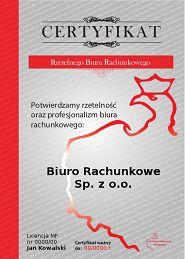 Certyfikowane Biura Rachunkowe Kraków - Zobacz Listę