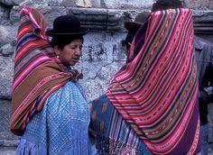 Bolivia | Portrait of two women. La Paz | © Deepchi1 Images