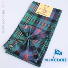 Malcolm Ancient Tartan Sash from ScotClans