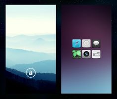 15 Android & iPhone Homescreens & Lockscreens   Part 24