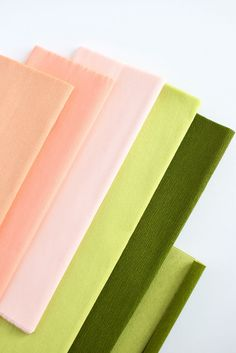 Lia Griffith crepe paper from Crafted To Bloom
