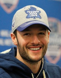 Jonathan Bernier - Goalie for the Toronto Maple Leafs and my favourite Leafs player