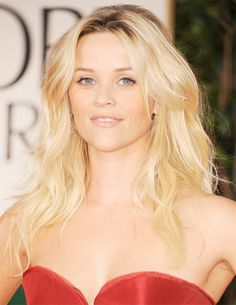 Get the Look: Reese Witherspoon at the 2012 Golden Globes