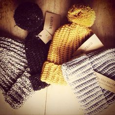 The Alley Alley Oh Bobble Beanie Hats #handmade available on Etsy: TheManchesterBee