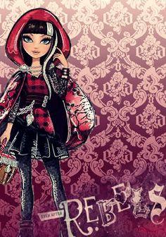 Love this of Cerise Hood