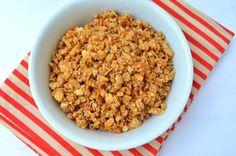 Amaranth-Hemp Seed Apricot Granola (oil-free)