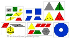 Constructive Triangles Bundle - Printable triangles for 6 Constructive Triangles Boxes, Control Charts included.