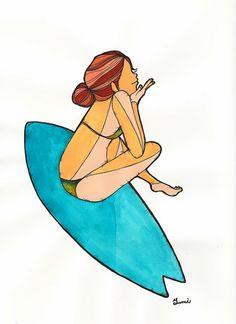 Uno de los nuestros: Las chicas surfistas de Yumi Yamada