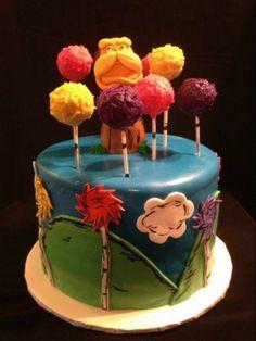 """""""Soy El Lorax. El guardián del bosque"""" Preciosa fantasía que invita a conservar la naturaleza. ¿Un #Cakepop de #Trúfula?  Da forma a su imaginación con la ayuda de www.clubcocina.net. Cocina de Culto"""
