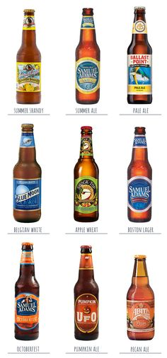 Favorite Beers for Late Summer and Fall