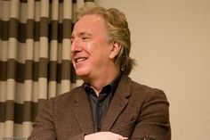 December 7, 2009 -- Alan Rickman giving a talk at the Hudson Society in New York, NY.