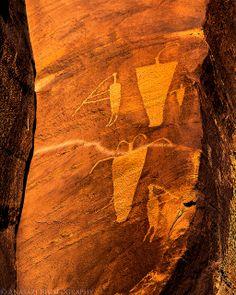 Flautist | Anasazi Rock Art