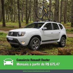 Acesse nossa matéria e saiba como fazer o melhor negócio ao comprar um Renault Duster: https://www.consorciodeautomoveis.com.br/noticias/renault-duster-2014-sem-entrada-e-sem-juros-em-ate-80-meses?idcampanha=206&utm_source=Pinterest&utm_medium=Perfil&utm_campaign=redessociais