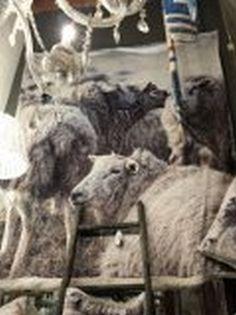 Plaid schapen print 160x140
