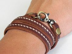 Leather Bracelet Wrap Leather Bracelet Women Leather Bracelet