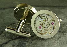 Vintage Watch Movement Cufflink $9.99