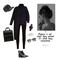 """Untitled #131"" by nirmaladv on Polyvore featuring rag & bone, Acne Studios, Daniel Wellington, Dr. Martens, London Road, Emma Watson and Ray-Ban"