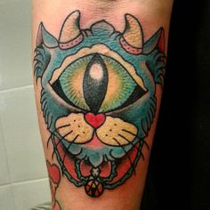 TATTOO: SOLE gatocyclop