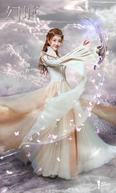 Pin on Medieval and Exotic Fashion Ice Fantasy, Fantasy Series, Fantasy Girl, Fantasy Posters, Dream Images, Chinese Movies, Beautiful Fantasy Art, Snow Queen, Ice Queen
