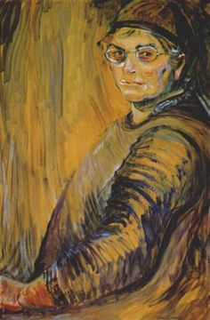Artist Emily Carr, self portrait.Emily Carr was a Canadian artist and writer heavily inspired by the indigenous peoples of the Pacific Northwest Coast. Tom Thomson, Canadian Painters, Canadian Artists, Emily Carr Paintings, Art Inuit, One Of Us, Dulwich Picture Gallery, Art Chinois, Selfies