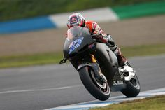Casey Stoner testing the 2014 Honda RC213V