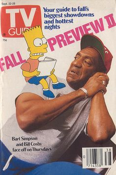 TV Guide, Sept. 22, 1990: Bart Simpson & Bill Cosby