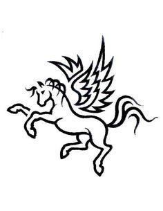 pegasus-outline-tattoo.jpg (480×622)