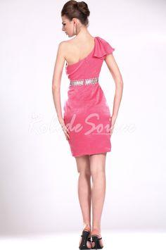 Nouveau Adoral Rose Une robe Parti épaule [ROBECOCKTAIL0074] - €126.73 : Robe de Soirée Pas Cher,Robe de Cocktail Pas Cher,Robe de Mariage,Robe de Soirée Cocktail.