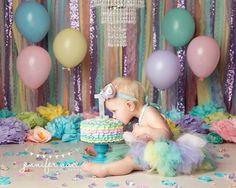 Les pastels mélangées avec de la lavande sparkle paillettes