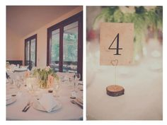 Winter Solstice Wedding 2012 - Table Setting