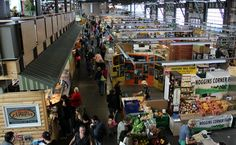 The Halifax Seaport Farmers Market.  Along the Halifax Waterfront.