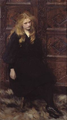 """""""Ethel"""" by Ralph Peacock, 1897"""