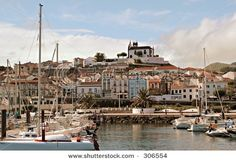 The marina of Sao Miguel, The Azores Islands, Portugal... My Country & My Culture!