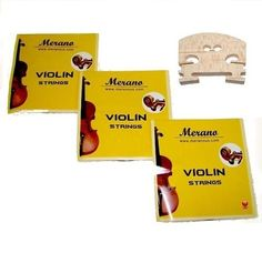 3 Sets Merano STV100 116 Size Violin String  Bridge * You can get more details by clicking on the image.Note:It is affiliate link to Amazon.