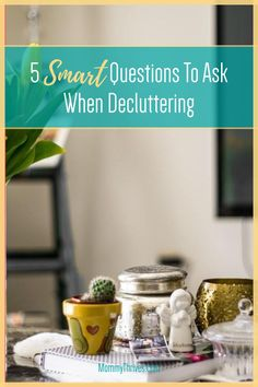 Decluttering Every Room In Your Home - Decluttering Tips and Tricks - Getting Ready To Declutter Your Home Minimalist Living Tips, Big Kitchen, Declutter Your Home, Lose My Mind, Questions To Ask, Decluttering, Plate Sets, Serving Dishes, Getting Organized