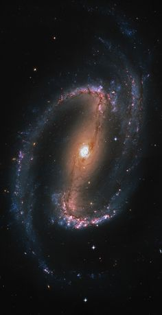 NGC 1300 by Steven Marx. A barred spiral galaxy about 61 million light-years away in the constellation Eridanus. The galaxy is about light-years across; just slightly larger than our own galaxy, the Milky Way. It is a member of the Eridanus Cluster. Cosmos, Space Planets, Space And Astronomy, Hubble Space Telescope, Space Photos, Space Images, Interstellar, Constellations, Spiral Galaxy