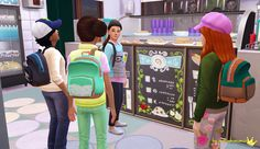 In a bad Romance. Sims 4 Children, 4 Kids, Kids Backpacks, School Backpacks, Sims Stories, School Bags For Kids, Sims 4 Cc Finds, Sims Mods, Sims Cc