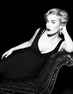 Kate Winslet photographed by Miguel Reveriego for Vogue in 2012