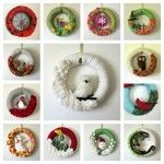 Fabulous Fall and Christmas Holiday Wreaths from The Baker's Daughter
