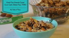 """Granola Cereal"" (THM-S, Grain Free, Low Carb, Gluten Free, Sugar Free)"