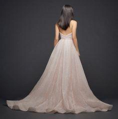 Lazaro Style 3810 Bridal Gown Back