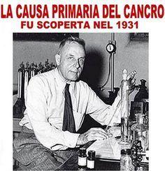 La causa principale del cancro fu scoperta nel 1931,ma mai nessuno vi ha detto…