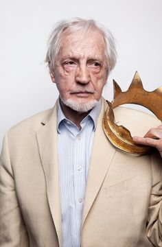 """The actor Edward Petherbridge, at 59E59 Theater, where he will perform in """"My Perfect Mind."""" Credit Jesse Dittmar for The New York Times. """"The King's the Thing, Not the Play, for an Actor Who Would Be Lear"""" NYTimes.com"""