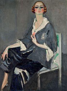 Kees van Dongen - Portrait de Mme. Jasmy