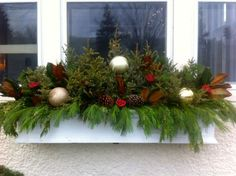 pin by bbb on window boxes pinterest christmas window boxes window and box