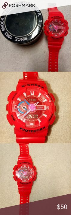 Men's Watch Men's Watch with Icy Bezel and small box.New          Rose Gold G-Shock Accessories Watches